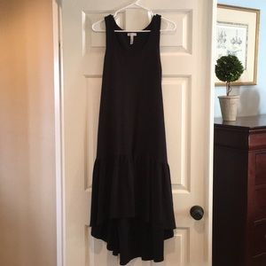 Leith Black High Low Sundress